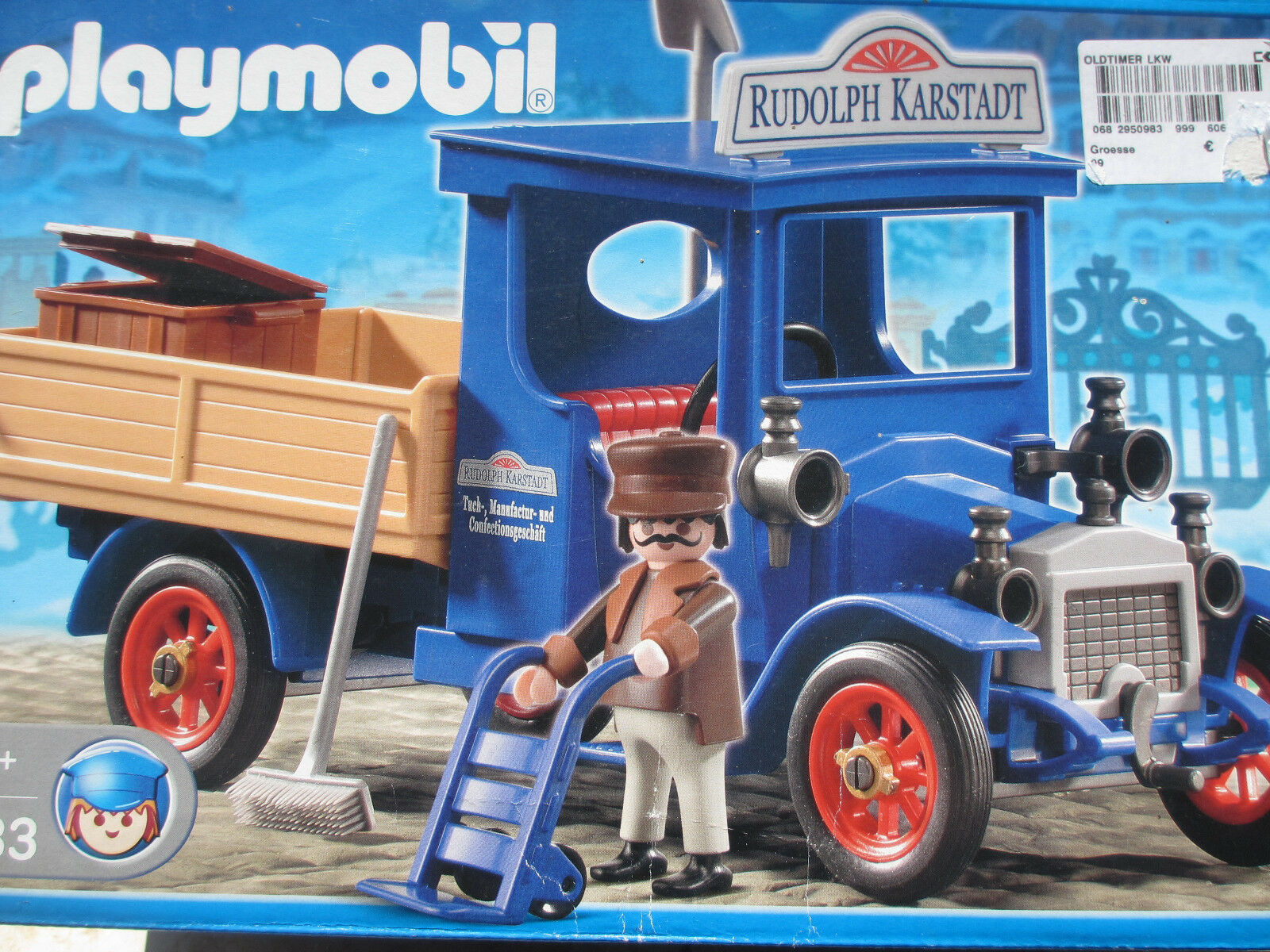 KARSTADT KARSTADT KARSTADT OLDTIMER LKW Playmobil 4083 Transporter Transport Union Laster OVP NEU 1ca73e