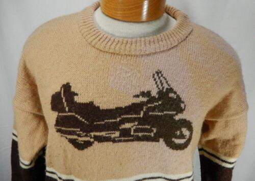 Knits pour moyen Abby par tricoté brun Pull de homme moche moto 4nP7f7qv