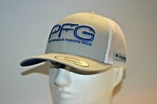 Columbia PFG Hook Logo Snapback Mesh Ball Cap in BLACK OSFA