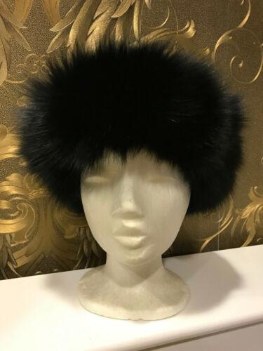 con pelliccia nera in di Cappellino fascia pelliccia f6Ybv7gy