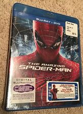 THE AMAZING SPIDER-MAN BLU-RAY + DVD DIGITAL COMBO PACK SPIDERMAN NEW