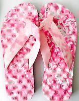 Ladies WHITE/Pink CAMOUFLAGE lightweight Flip Flops UK Size 7 EU 40 UK Seller