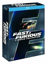 FAST AND FURIOUS - COFANETTO 7 FILM (7 BLU-RAY) COLLEZIONE COMPLETA ED ITALIANA