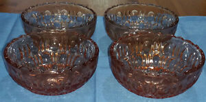 Set of 4 Large Vintage Deep Cut Glass Dessert  Sundae  Fruit Dishes  Bowls - <span itemprop=availableAtOrFrom>Caerphilly, Caerphilly, United Kingdom</span> - In the event of a problem, please contact me directly, as I always respond a lot quicker than Ebay, as I will alway do my upmost to solve any issues or questions that you m - Caerphilly, Caerphilly, United Kingdom