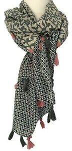Grey-Tassel-Scarf-Ladies-Pink-Blue-Oversized-Paisley-Floral-Festival-Wrap-Shawl