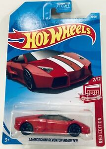 Hot Wheels Lamborghini Reventon Roadster Scale 1 64 Red Ebay