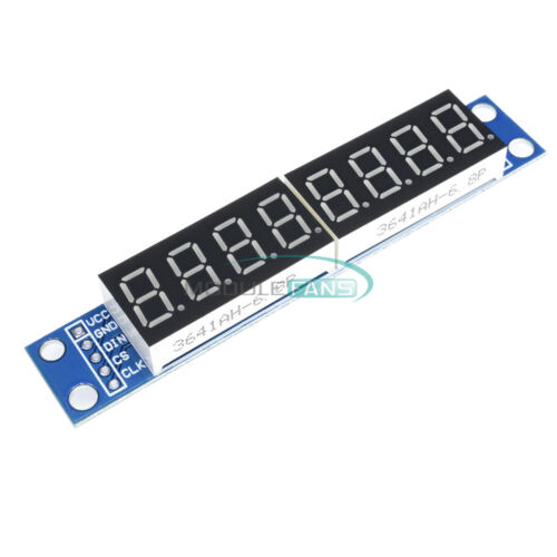 For Arduino MAX7219 LED Dot Matrix 8-Digit Digital Tube Display Control NEW