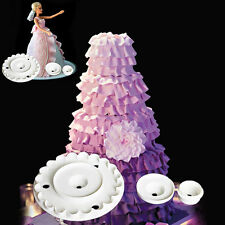 Barbie Lace Skirt Cutter Mold Fondant Cake Decorating Sugarcraft Embosser Tools