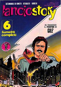 251-LANCIOSTORY-ed-Eura-1976-poster-Gile-n-38-stato-Ottimo