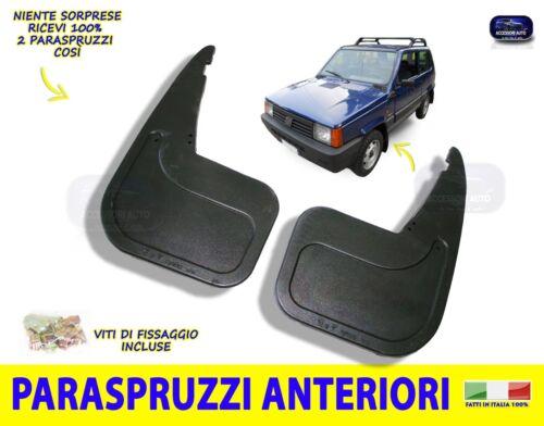 Paraspruzzi Fiat Panda 4x4 dal 1986 al 2003 para spruzzi panda ruote Anteriori
