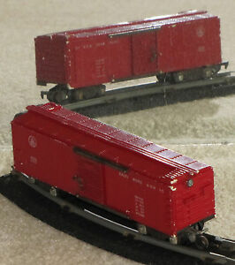 American Flyer 633 Red Painted B&O Boxcar NR