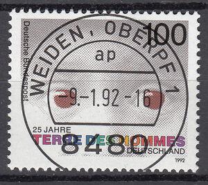 BRD 1992 Mi. Nr. 1585 gestempelt WEIDEN OBERPF 1 , mit Gummi TOP! (17328) - Beckum, Deutschland - BRD 1992 Mi. Nr. 1585 gestempelt WEIDEN OBERPF 1 , mit Gummi TOP! (17328) - Beckum, Deutschland