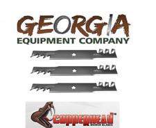 3 USA mulching blades Husqvarna 574870801 craftsman 574870801 52xls /& 48xls
