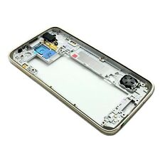 For Samsung Galaxy S5 i9600 G900F G900H Back Frame Housing Bezel Genuine Gold