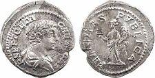 Geta, denier, Rome, FELICITAS PVBLICA, Félicité - 33