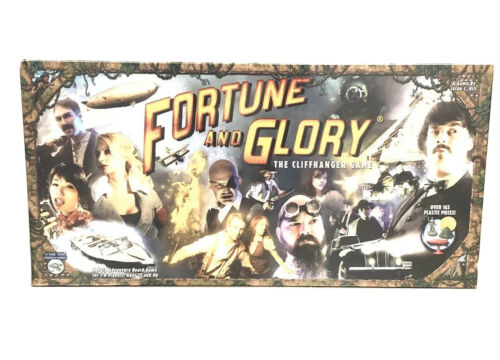 FORTUNE and GLORY The Cliffhanger Game Flying Frog Productions New In Box