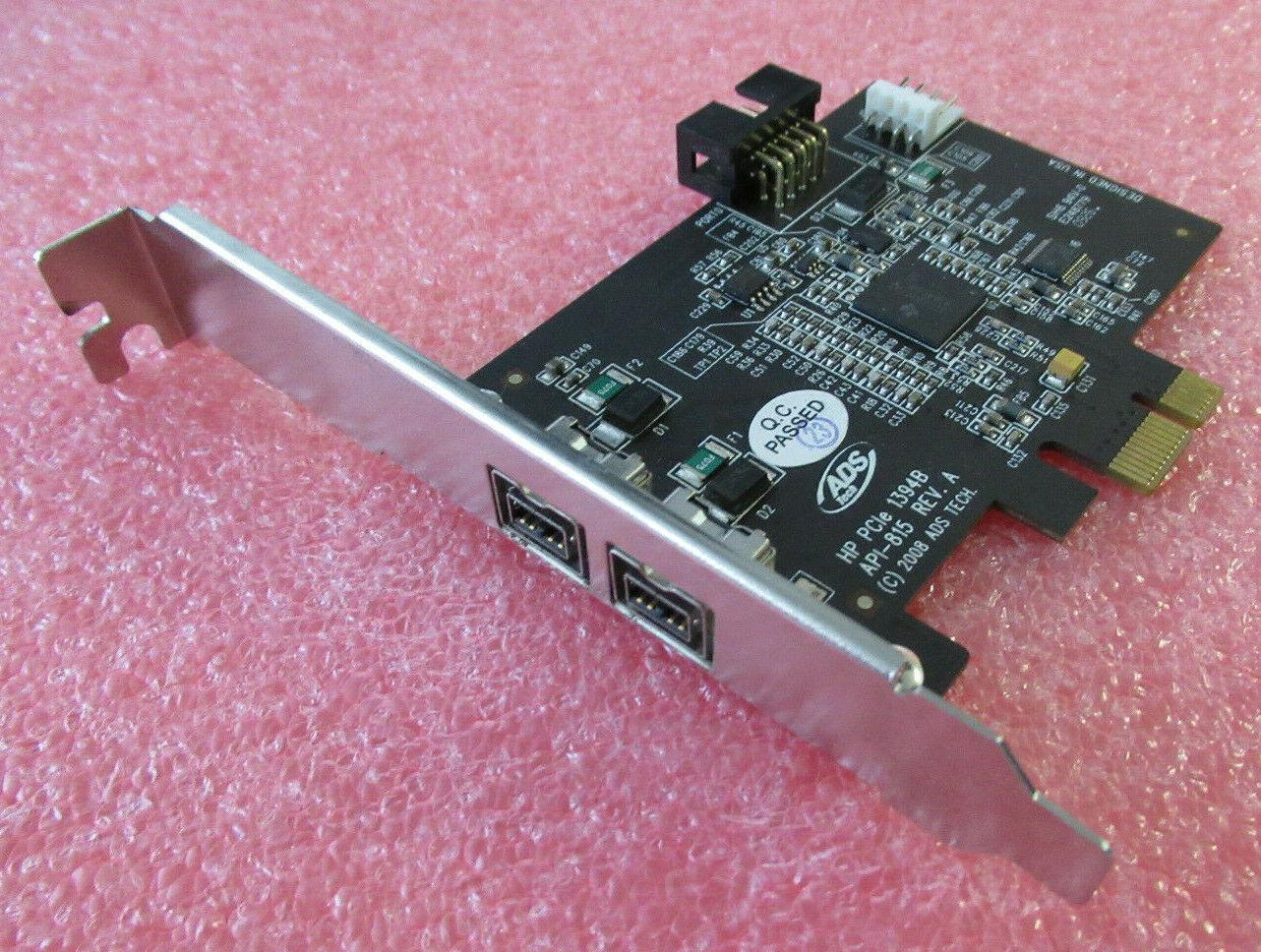 HP FIREWIRE CARD DUAL 1394B PORT PCI-E FIREWIRE MODULE 491886-001 508927-001
