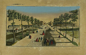 GR-22-RUE-SAINT-DENIS-PARIS-GRAVURE-COULEUR-SUR-PAPIER-XVIII-SIECLE