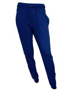 b10332f569 Pantalone di Tuta da Ginnastica Donna P/E NIKE Cotone Colore Azzurro ...