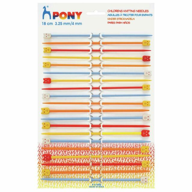 Whitecroft Essentials Children/'s Knitting Needles Pins