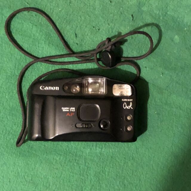 Canon Sure-Shot Owl Date 35mm AF Film Camera | Tested and Working