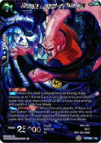 BT6-041 SR Super Rare Dragon Ball Super TCG Ultimate Absorption Majin Buu