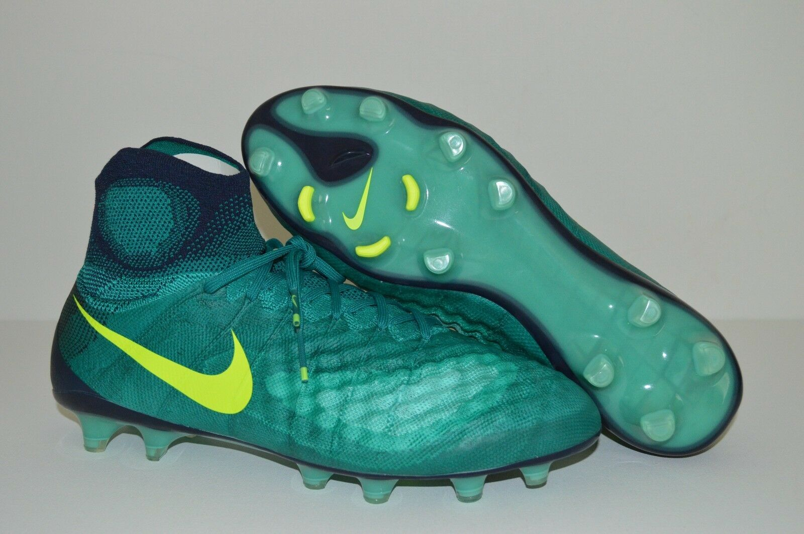 Nike magista obra ii fg stollenschuhe größe 6 grüne grüne grüne 844595-376 9a4df5