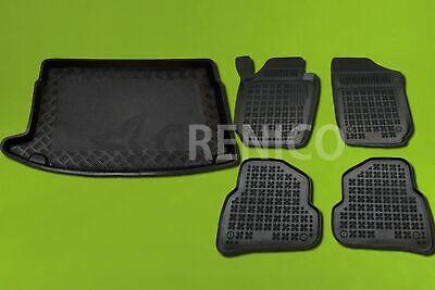Für VW Polo V 6R 2009-2017 Schrägheck Gummi Fußmatten Hohe 3D Automatten
