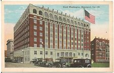 Hotel Washington in Shreveport LA Postcard