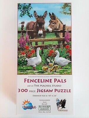 SunsOut Rainy Lake 300 pc Jigsaw Puzzle