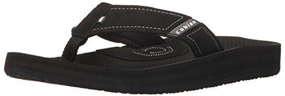Men Cobian ARVII Flip Flop Sandal ARV07 - 001 Black 100% Authentic Brand New