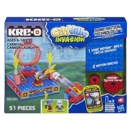 KRE-O Cityville invasion Carnaval Cannon lancement set a5858
