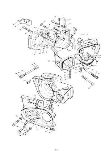 TRIUMPH Parts Manual T140  Harris 1985 FACTORY Replacement Catalog Catalogue