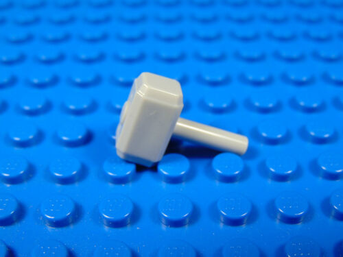LEGO-MINIFIGURES SERIES  X 1 BLUISH GRAY SLEDGEHAMMER//TOOL SUPER HEROES THOR