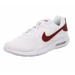 NIKE AIR MAX OKETO MENS Shoes Sneakers Running White University Red 9 13