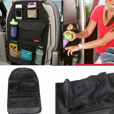 Portable Simple Protector Car Back Seat Organizer Multi-Pocket Storage Bag