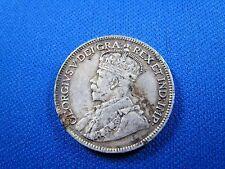 CANADA 1917C 25c SILVER COIN    (skc1)