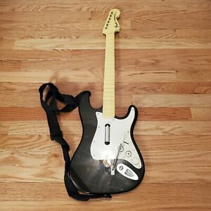 Rock Band Harmonix Guitar Controller Fender Stratocaster 19091 (NO DONGLE) Works