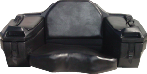 NEW-ATV-TRUNK-SEAT-BOX-STORAGE-BACK-REST-REAR-CARGO-PASSENGER-2000-QUADRAX