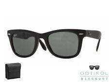 Ray Ban RB 4105 601S 50 FOLDING WAYFARER occhiali sole Sunglasses Sonnenbrille