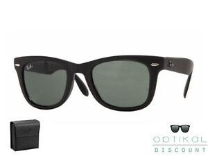 Ray-Ban-RB-4105-601S-50-FOLDING-WAYFARER-occhiali-sole-Sunglasses-Sonnenbrille