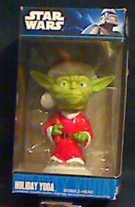 Yoda™ Vinyl Bobble-Head Item #33885 Funko Pop Star Wars™ Holiday
