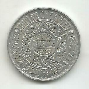 Morocco-5-Francs-1370-1951-and-48-XF