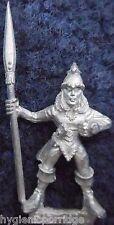 1990 Mar Elf Mm82 se 3 Marauder elfos ejército acuático Warhammer Citadel AD&D Metal