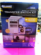 Reliance Controls 306lrkback Up Power Transfer Switch Kit New