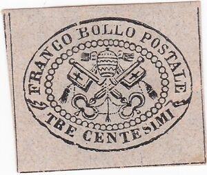 STATO-PONTIFICIO-3-c-1867-non-dentellato-nuovo-con-gomma-con-certificato