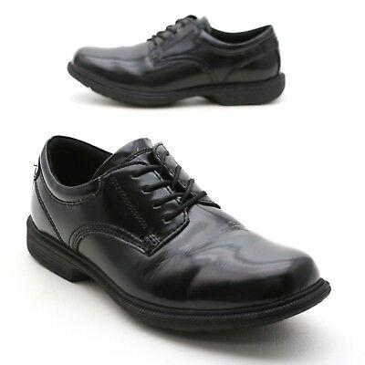 Nunn Bush Men S 8 5 M Kor Black Leather Upper Lace Up