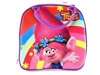 Trolls Poppy Lunch Box Carry Bag With Shoulder Strap And Water Bottle