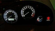 WHITE Suzuki gsxf katana 600 750  led dash clock conversion kit lightenUPgrade