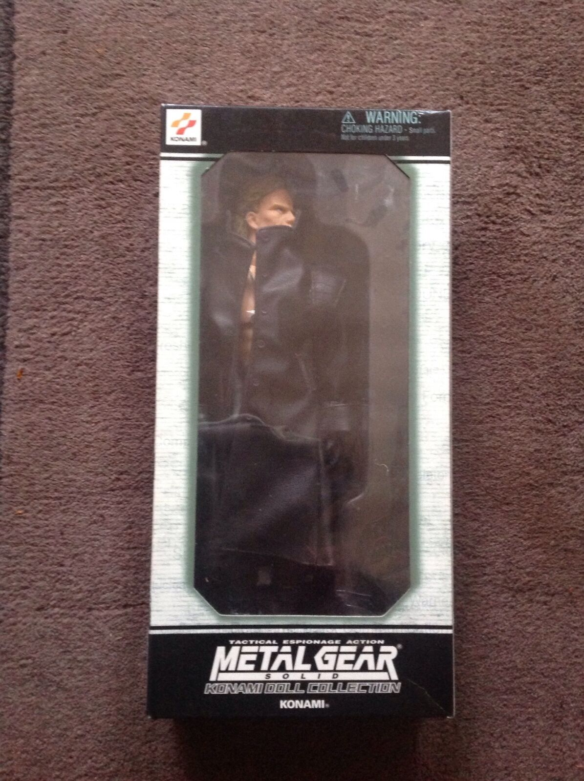 Metal Gear LIiqud Snake Figure
